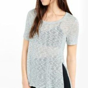 Express One Eleven Side Slit T-Shirt